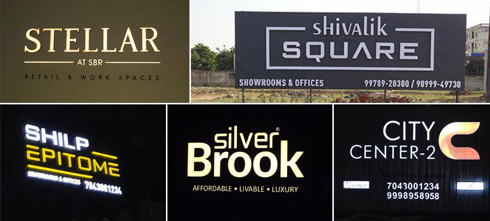 Best Real Estate Signs Board Maker in gujarat
