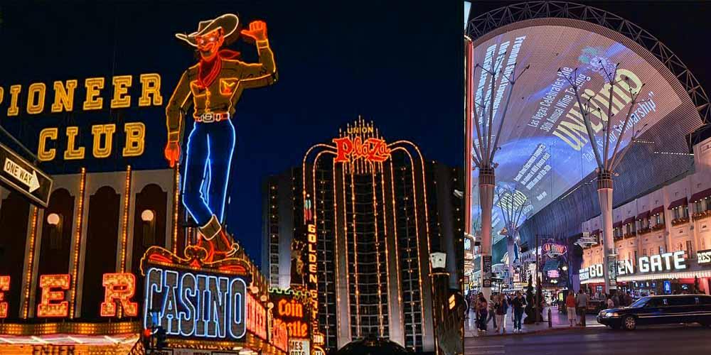 Signboards Ahmadabad, Signboards Las Vegas, Fremont Street Las Vegas