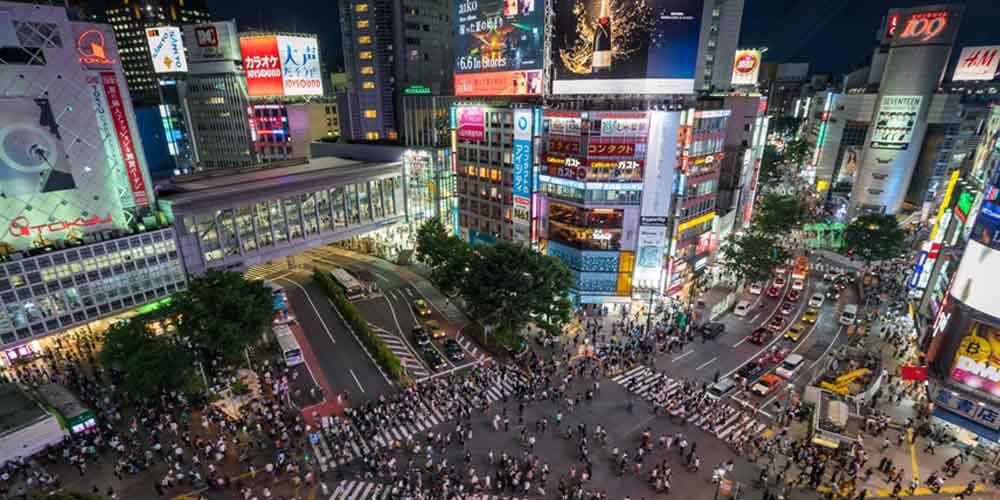 Shibuya Tokyo, Signboards Ahmadabad, Signboards Tokyo