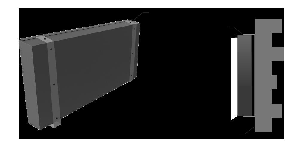 BackLit - Surface Mount
